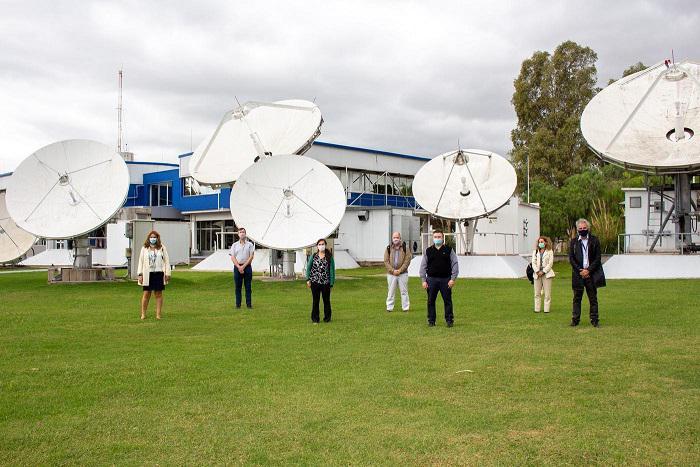 ARSAT imagen sistema de monitoreo